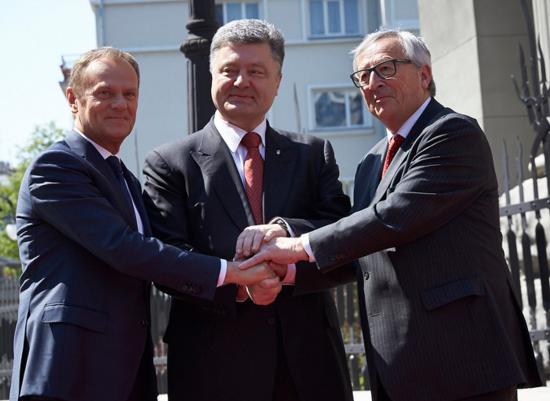 JunckerTuskPoroshenko