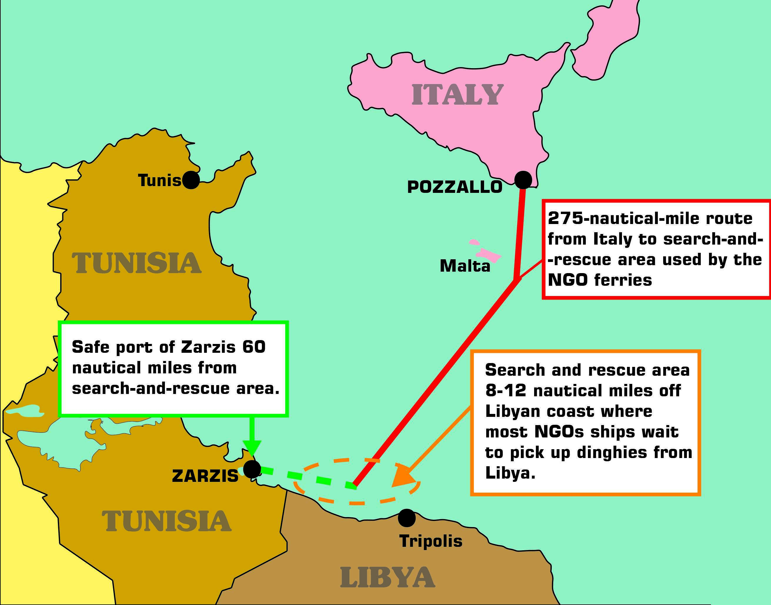 Ngos deal in migrant smuggling on the basis of our observation it turned out that the italian authorities knew in advance that there would be a rescue operation that night sciox Images