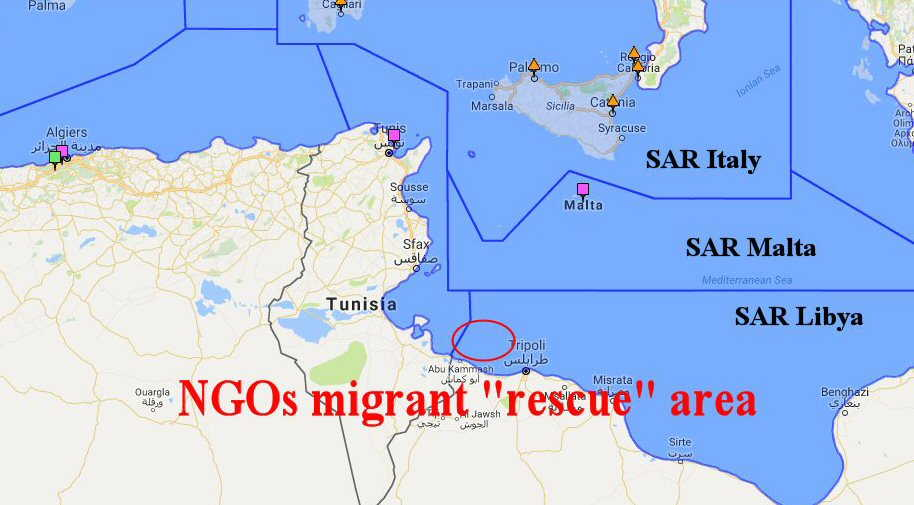 Libya To Italy Map.Ngos And European Defense Forces Shipped Another 85 000 Africans To